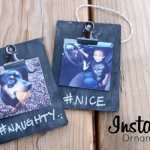 DIY Instagram Ornament Gift {Day 6 of 8 Days of DIY Holiday Gifts}