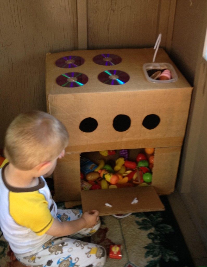 Ways To Play With A Cardboard Box