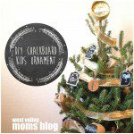 DIY Chalkboard Kids Ornaments