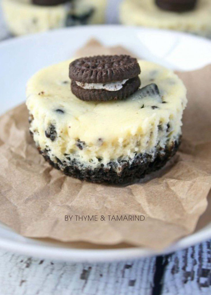 Foodie Friday Mini Oreo Cheesecake Bites