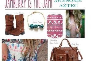North Phoenix Moms Blog - Jamberry Nail Wraps Aztec Ombre