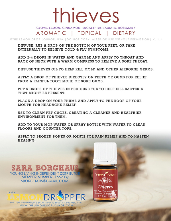 Young Living Essential Oils Giveaway