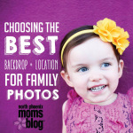 Choosing the Best Backdrop and Location for Family Photos
