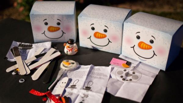 snowman party 10