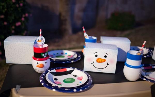 snowman party 4