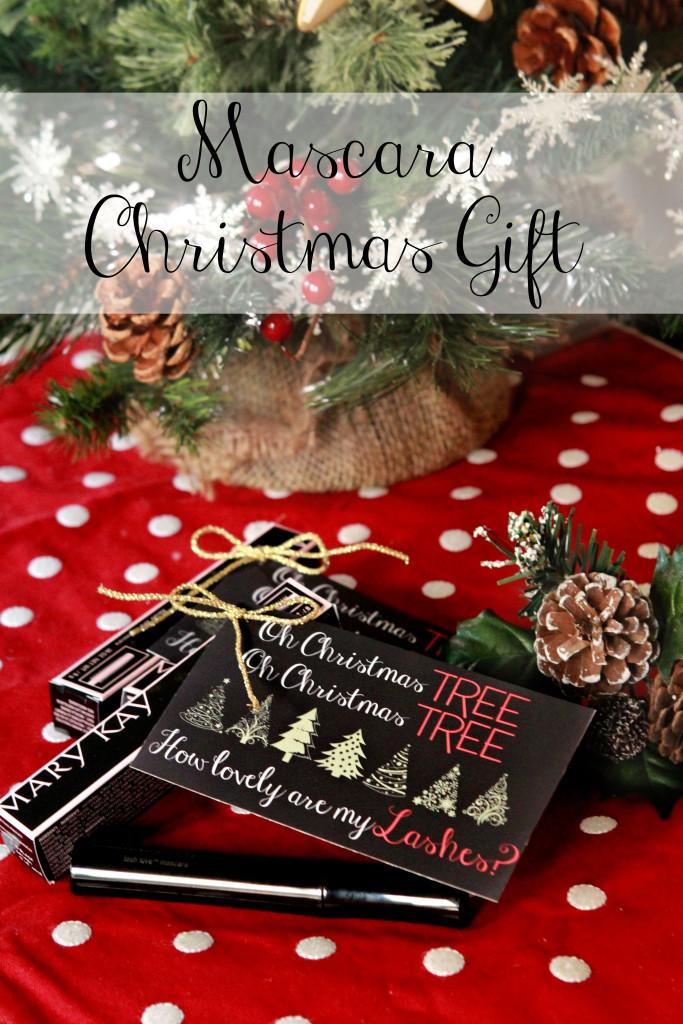 Gifts for Her - Mascara Christmas Gift Tag Printable