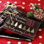 Gifts for Her – Mascara Christmas Gift Tag Printable