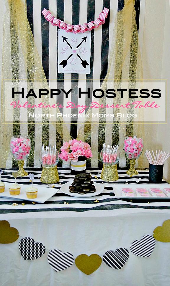 North Phoenix Moms Blog Happy Hostess Valentines Day Dessert Table 1