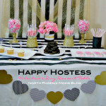 Happy Hostess: Valentine's Day Dessert Table