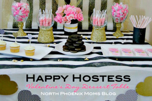 North Phoenix Moms Blog Happy Hostess Valentines Day Dessert Table a
