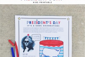 North Phoenix Moms Blog - President's Day Printable Thumbnail