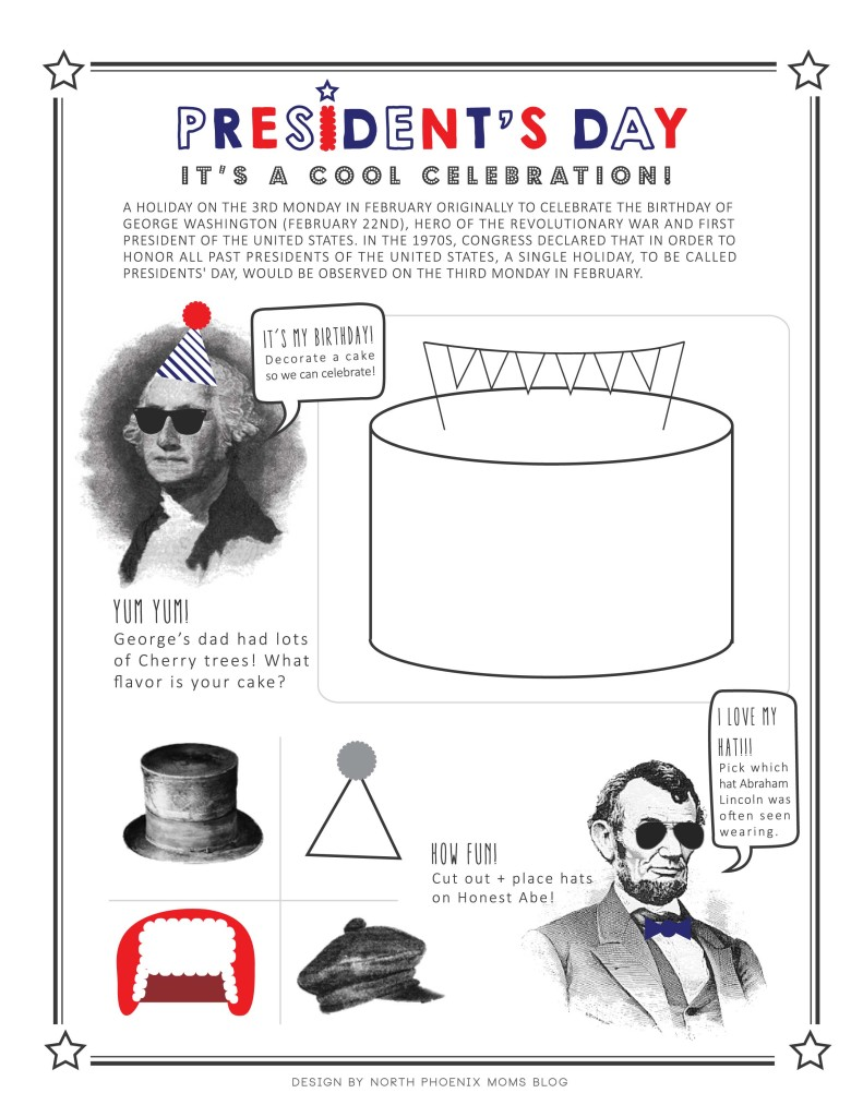 President's Day Printable