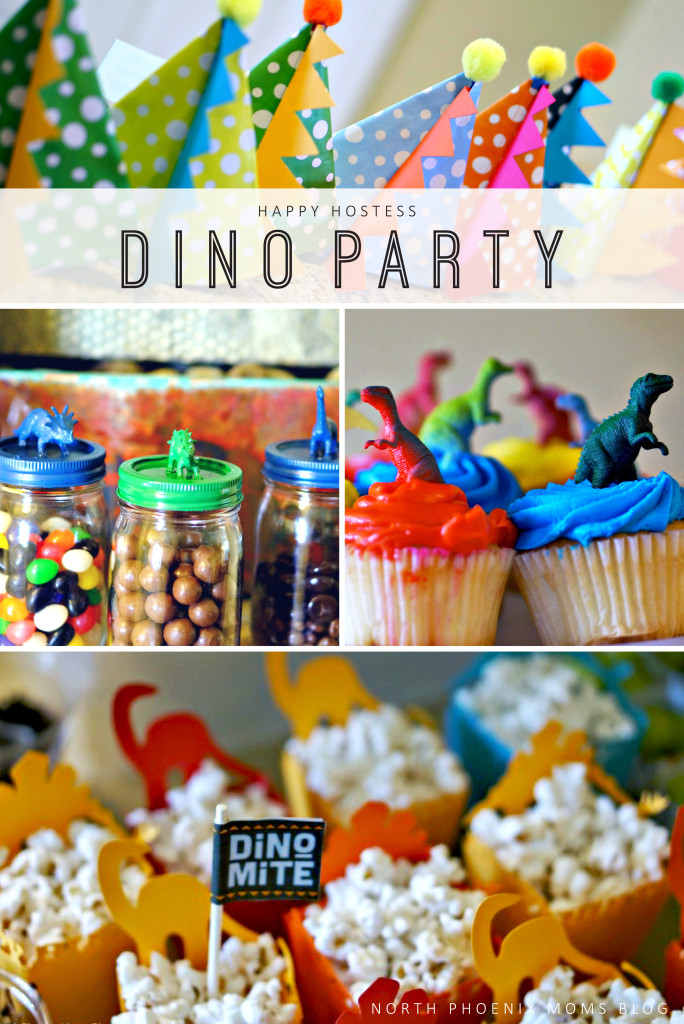North Phoenix Moms Blog - Dino Party - Happy Hostess - Jen A Str