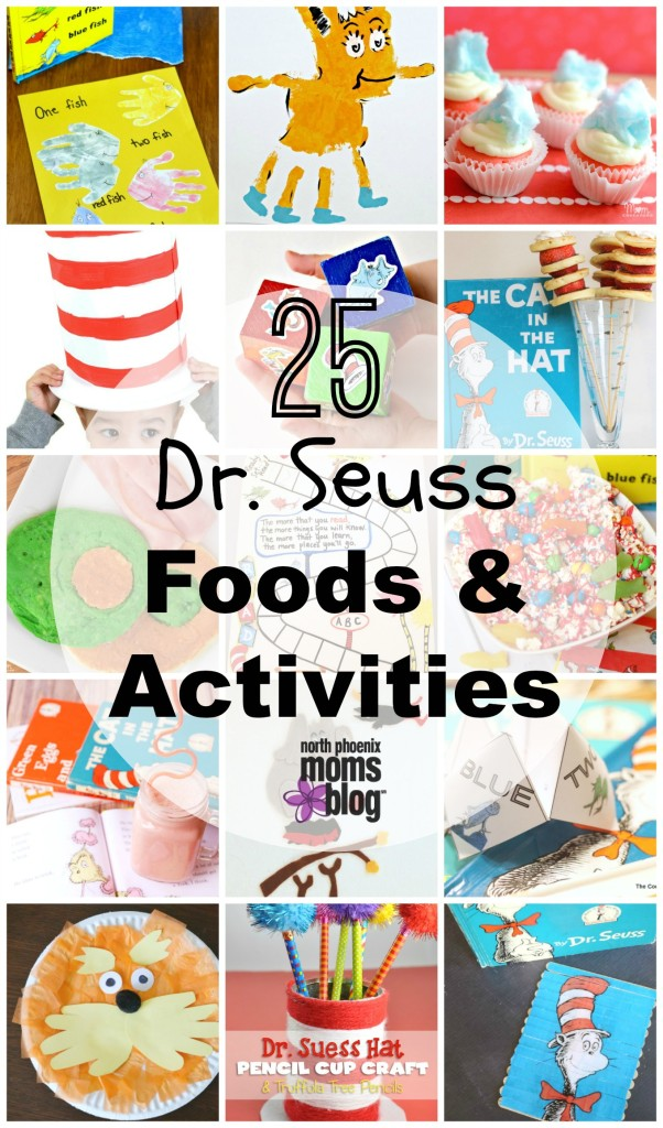 image about Read Across America Printable called 25 Dr. Seuss Themed Meals and Functions