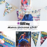 Marvel Universe LIVE! plus 5 Step DIY Comic Book Banner