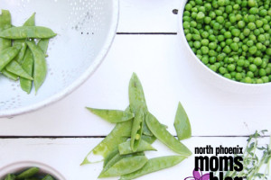 North Phoenxi Moms Blog - Foodie Friday - 4 Pea Salad copy