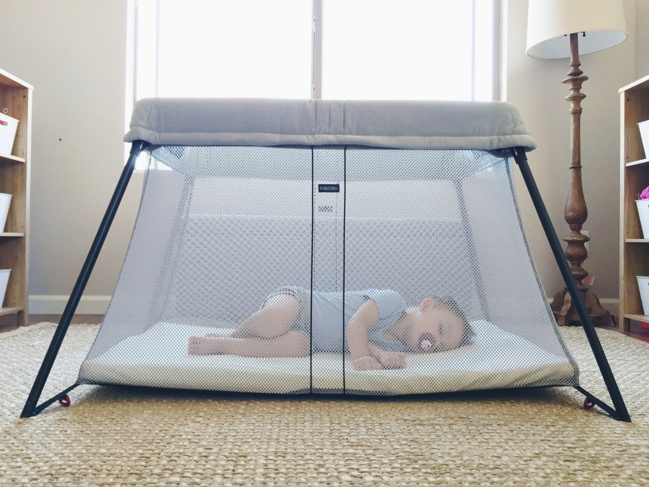by dbl babybjorn silver bjorn travel light manufacturer dp crib discontinued cribs
