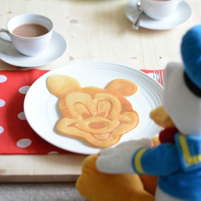 Mickey Mouse Pancake Recipe and Tutorial for National Pancake Day