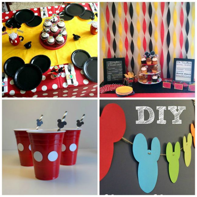 Mickey Party Decor Ideas - Celebrate National Pancake Day with a Mickey Pancake Party