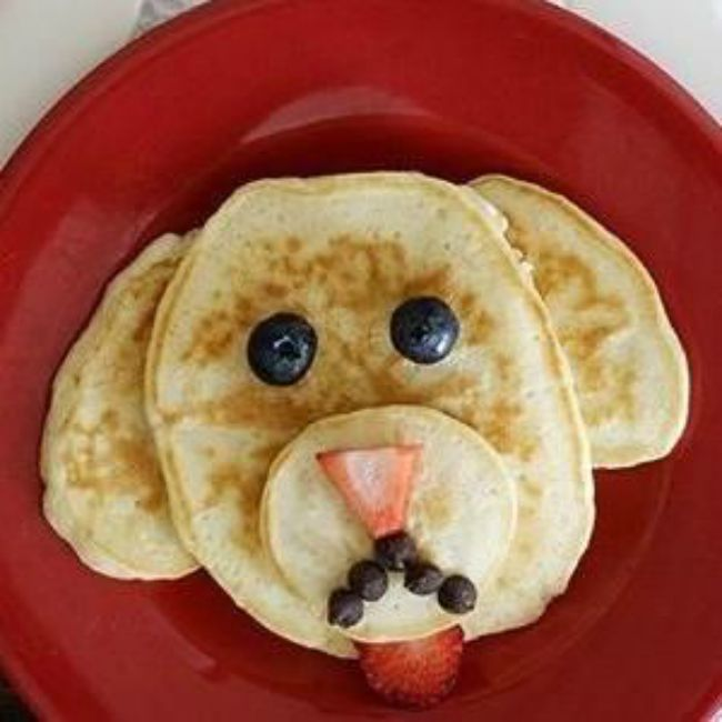 Puppy Pancake Recipe and Tutorial