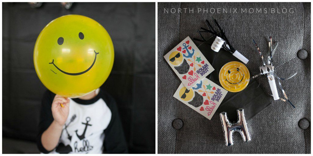 North Phoenix Moms Blog - Cool Kids Party Favor - Happy Face
