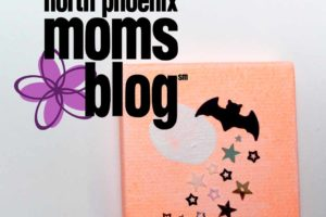 North Phoenix Moms Blog - Halloween Craft - Fingerprint - Kids Craft - Thumbnail copy