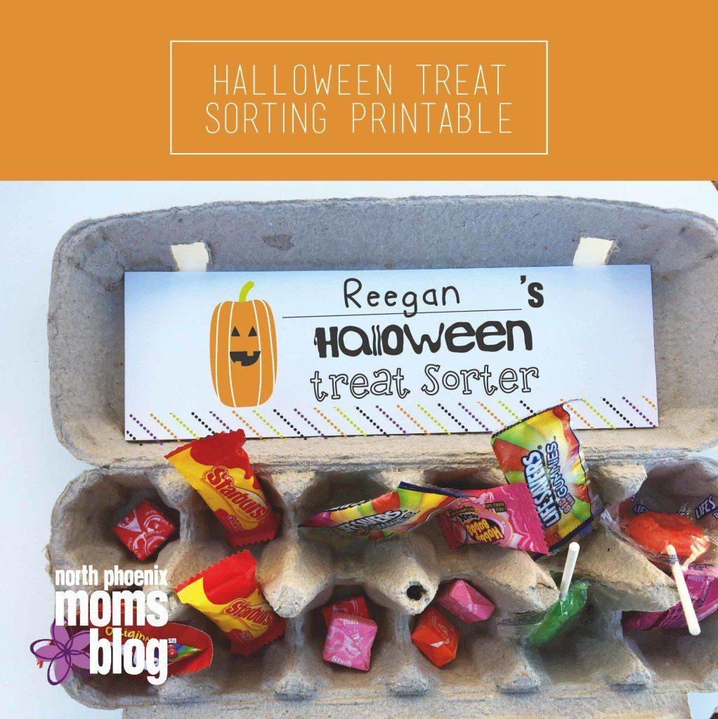 North Phoenix Moms Blog - Halloween Sorting Printable - Kids Candy - Hallween Treats