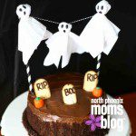 Spooky DIY Ghost Cake Topper