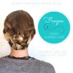 Frozen: Anna Inspired Hair // Disney on Ice