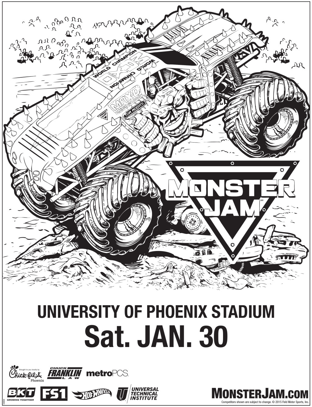 monster jam comes to glendale discount tickets