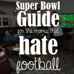 Super Bowl Guide… for the moms that hate football
