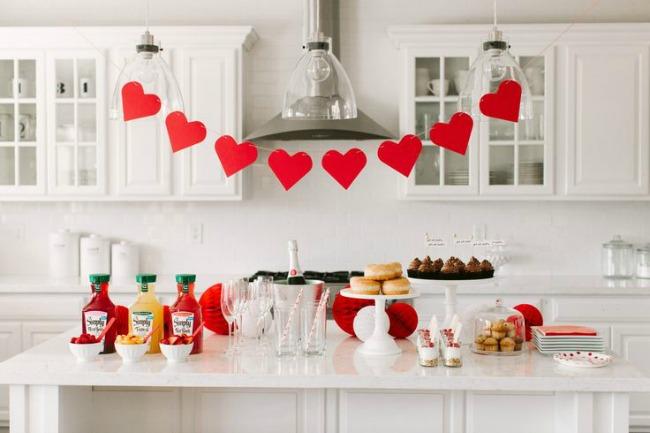Valentine's Day Mimosa Bar