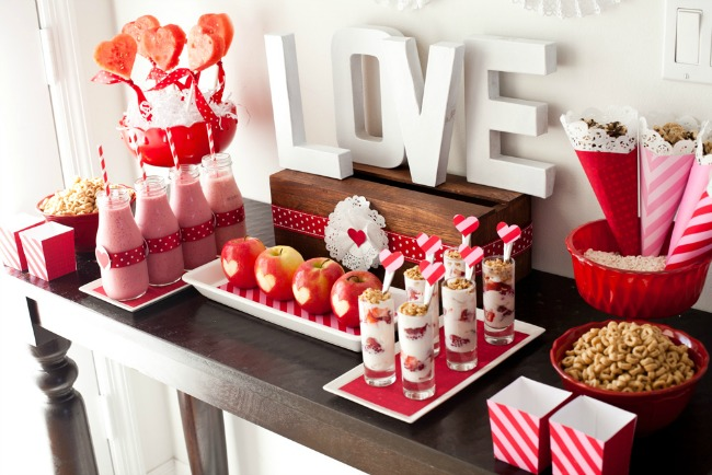 Valentine's Day Breakfast Party