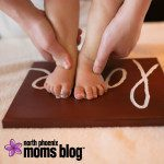 DIY Love Sign :: The Perfect Gift With Baby Feet
