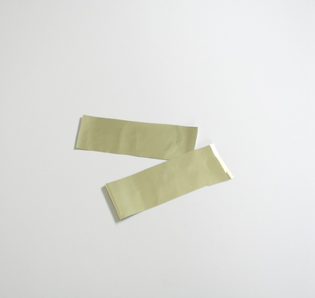 Metallic Gold for DIY St. Patrick's Day Bunting