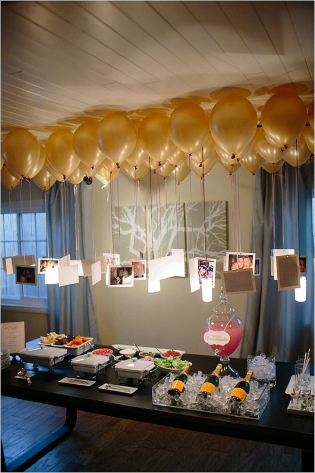 Graduation party ideas, picture balloon DIY project
