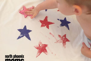 DIY - 4th of July Shirt | North Phoenix Moms Blog copy