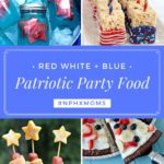 Patriotic Party Food :: Red White and Blue