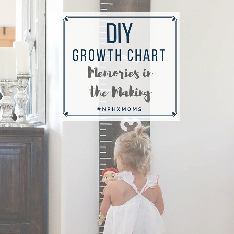 Diy Growth Chart Memories In The Making