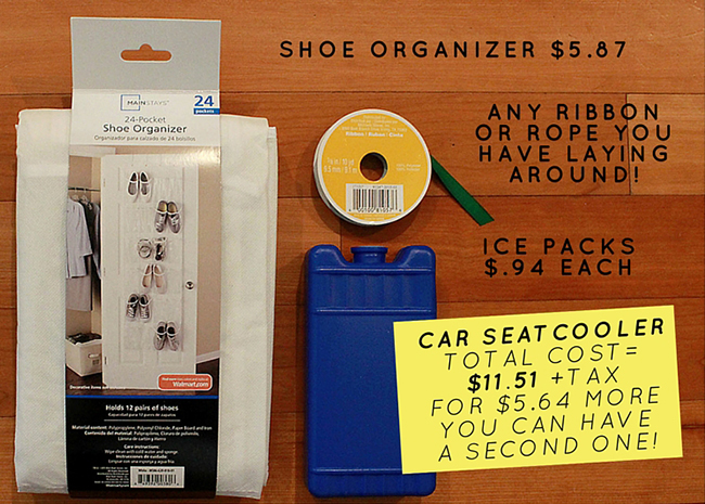 DIY How To Make A Crazy Cheap Car Seat Cooler - How to make car cooler