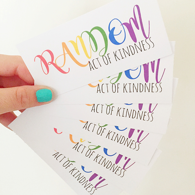 Random Acts of Kindness North Phoenix Moms Blog
