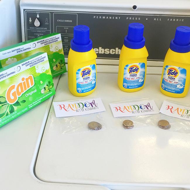 Laundry Random Acts of Kindness North Phoenix Moms Blog