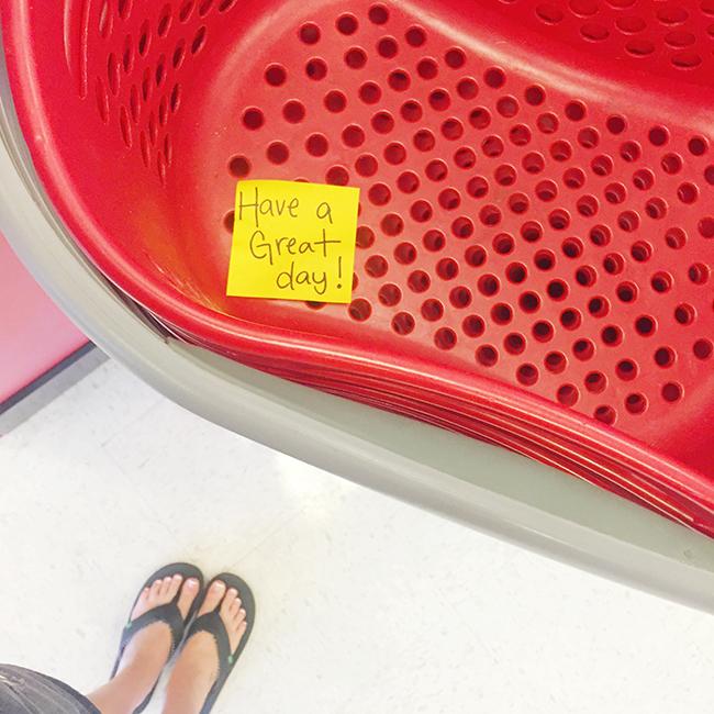 Target Basket Random Acts of Kindness North Phoenix Moms Blog