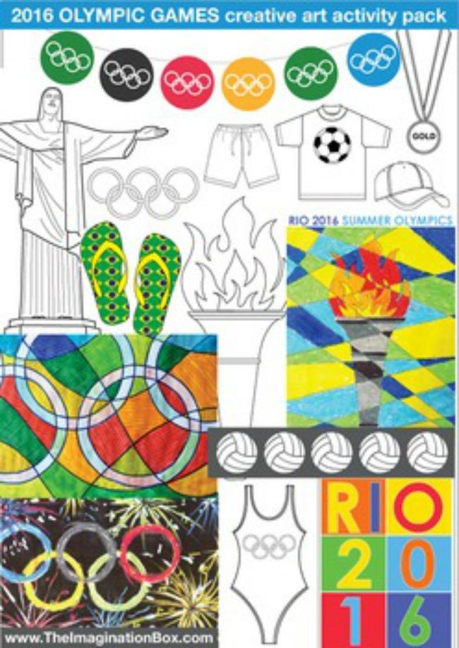 Printable for 2016 Rio olympics