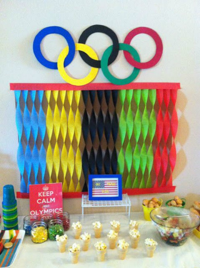 Easy kids olympic party