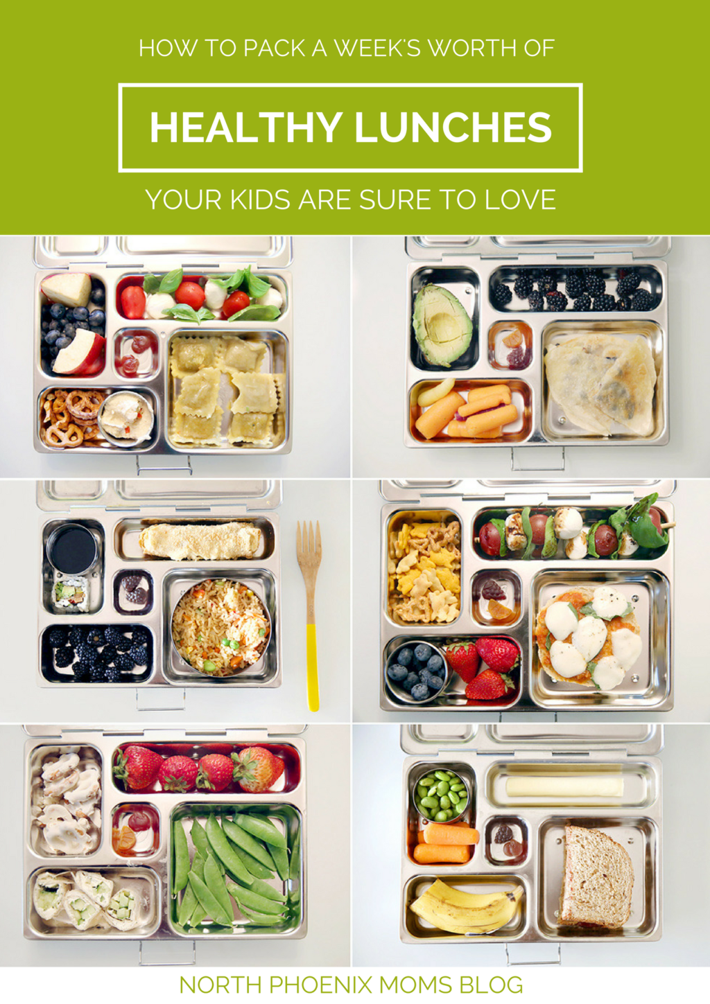 How To Pack a Week's Worth of Healthy Lunches Your Kids Are Sure to Love | North Phoenix Moms Blog