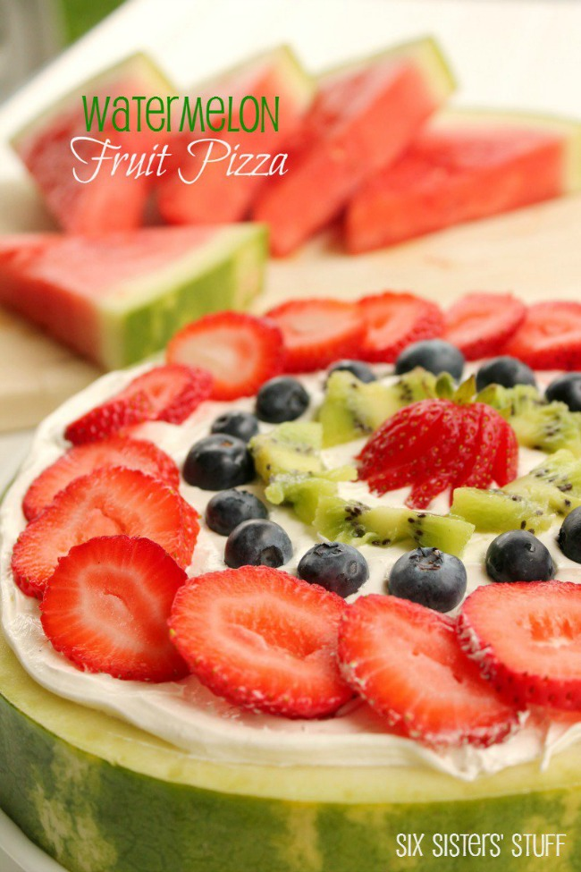 Pizza party fruit pizza