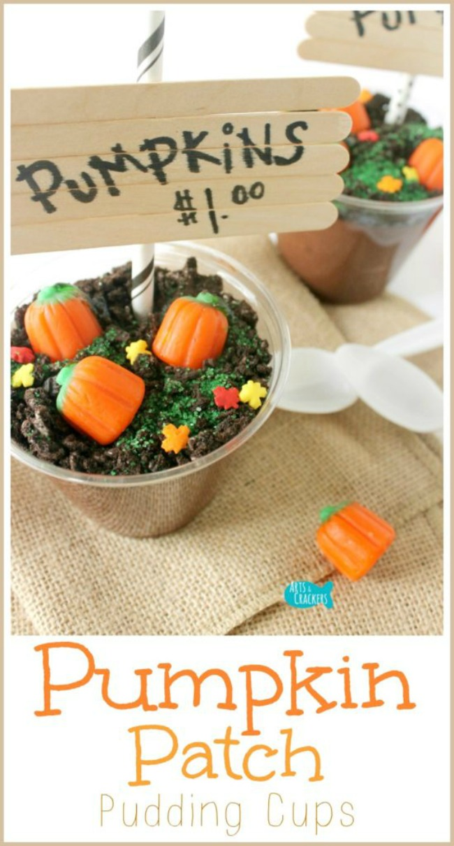 Pumpkin patch jello cups, Halloween treat