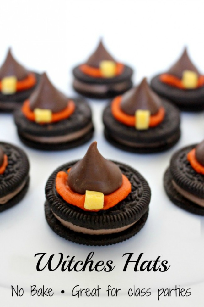 Chocolate witches hats, Halloween treat