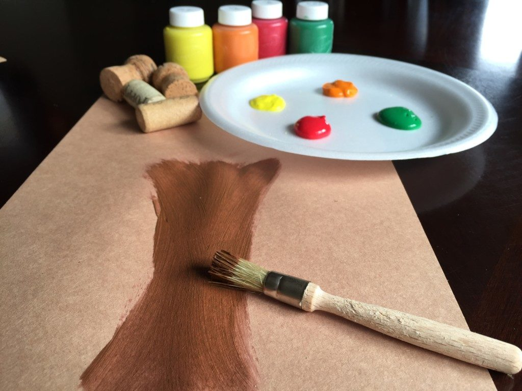 Leaf Painting Fall Craft